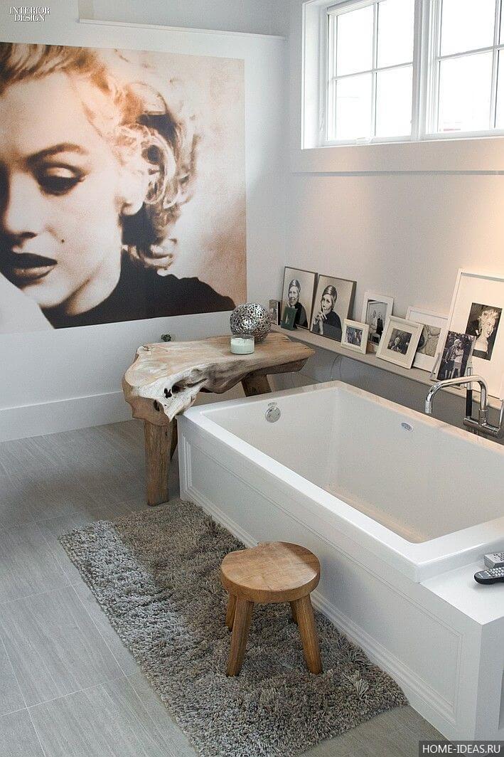 Marilyn monroe bathroom