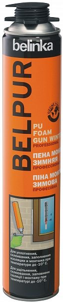 BELINKA Belpur PU foam Gun Winter 750 ml